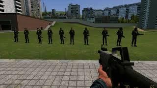 Garrys mod в стиме .Аддон Opposing Force 2 Phoenix (Npc + Weapon)