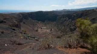 La Caldera de Bandama.Gran Canaria.wmv