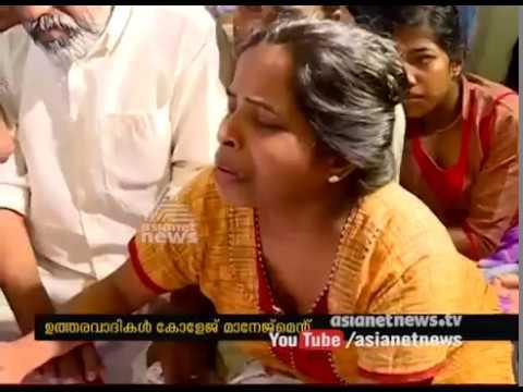 VS Achuthananthan Visits jishnu pranoy's House