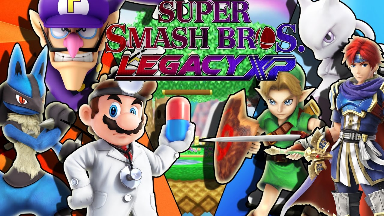 how to download super smash bros legacy