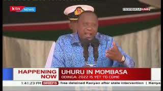 Hao washenzi waachane na mimi , Uhuru silences his nay Sayers
