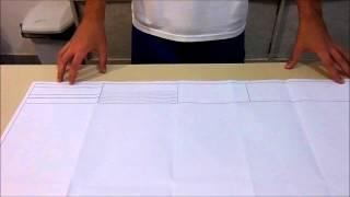 NBR 13142 - Como fazer o drobramento de ...