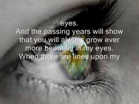 your always beautiful in my eyes