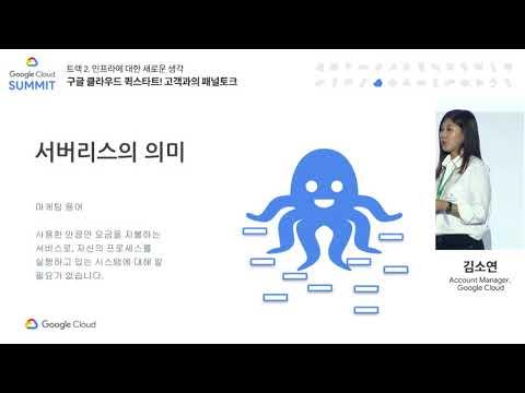 [SEOUL Summit - T2] 구글 클라우드 퀵스타트! 고객과의 패널토크
