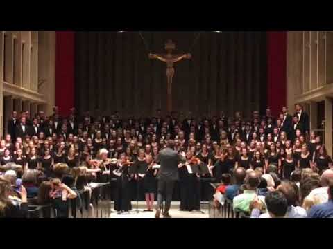 Chesterton Academy spring 2018 concert