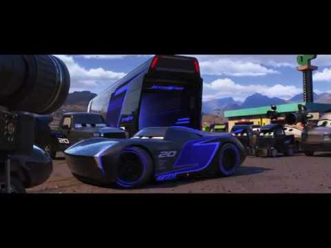 cars 3 meet jackson storm movie clip 2017 pixar. Black Bedroom Furniture Sets. Home Design Ideas