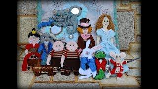Alice In Wonderland - Quiet book