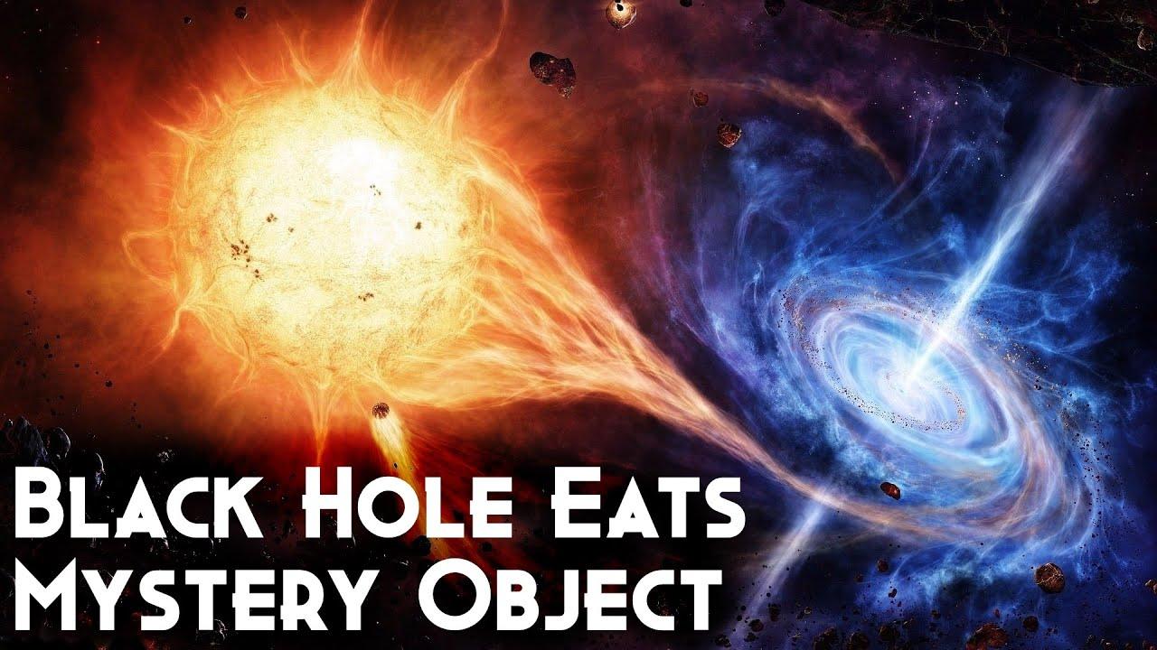 Black Hole Eats Mystery Object In Latest Gravitational ...