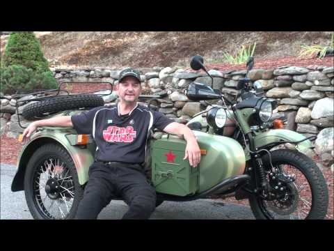 Owner Experience  Jeff Ottaviano, 2014 Ural Gear Up Custom, AlphaCars & Ural of New England