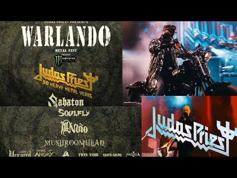 Judas Priest's 'Warlando Metal Fest' 2021 w/ Sabaton/Soulfly/Mushroomhead and more...!