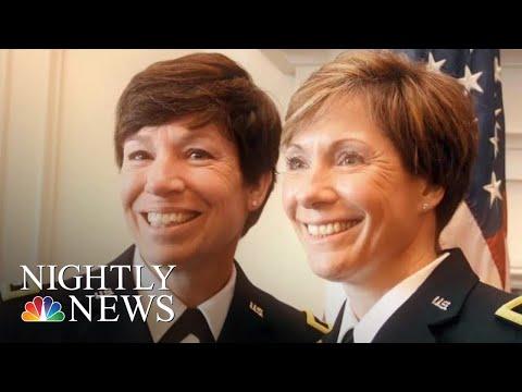 Sisters Make History As U.S. Army Generals | NBC Nightly News