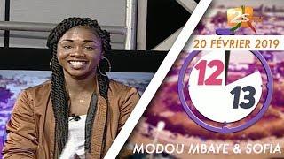 12/13 DU 20 FÉVRIER 2019 AVEC MODOU MBAYE & SOFIA - SUPPLÉMENT DE SPORT AVEC FATIMA SYLLA
