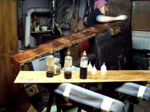 Restauro mobili antichi fine lucidatura gomma lacca doovi - Sverniciare mobile antico ...