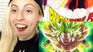 Dragon Ball Super: Broly Trailer #3 - (English Sub) - REACTION!!!