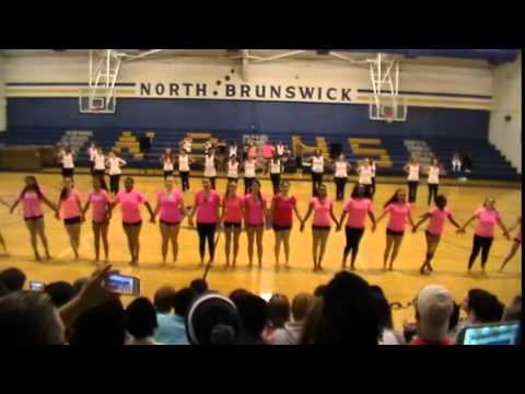 NORTH BRUNSWICK HIGH SCHOOL DANCE CONCERT 2014 FINALE OF ALL CLASS PERIODS