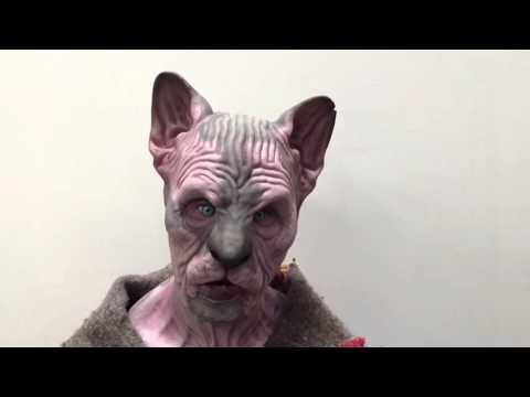 Sphynx female fit silicone mask www.immortalmasks.com
