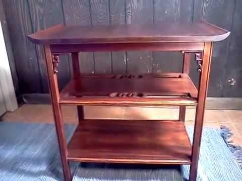 mahogany table-after.wmv
