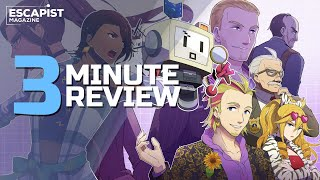 Murder by Numbers | Review in 3 Minutes (Video Game Video Review)