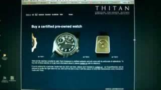 Thitan montres d'occasion