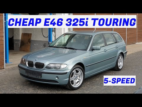 how-much-bmw-e46-can-you-get-for-1.100€?-bmw-325i-touring---project-cologne:-part-1