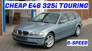 How much BMW E46 can you get for 1.100€? BMW 325i Touring - Project Cologne: Part 1