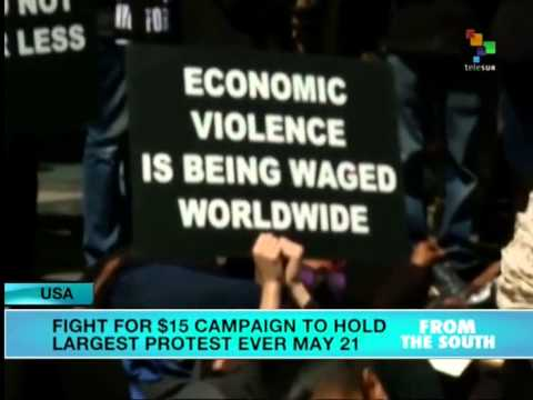 USA: McDonald's Workers Will Take 'Fight for $15' to Shareholders