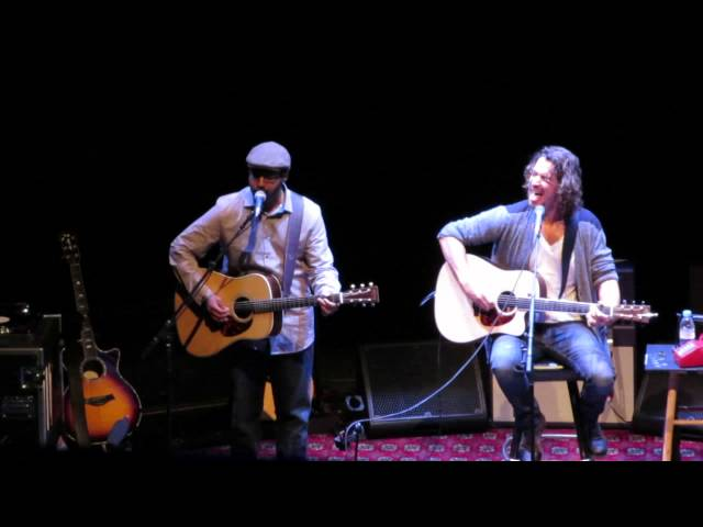 Hunger Strike performed by Chris Cornell and Bhi Bhiman