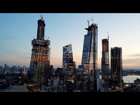 $20 Billion Hudson Yards is NYC's Largest Project - Construction Update