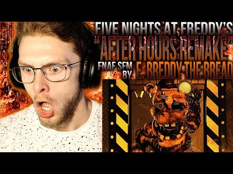 "Vapor Reacts #867 | [SFM] FNAF SONG REMAKE ANIMATION ""After Hours"" By E. Breddy The Bread REACTION!!"