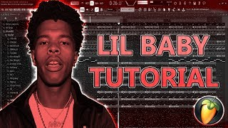 HOW TO MAKE A CRAZY BEAT FOR LIL BABY & LIL SKIES (FL Studio Tutorial)