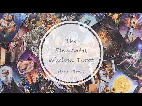 開箱  元素智慧塔羅牌 • The Elemental Wisdom Tarot // Nanna Tarot