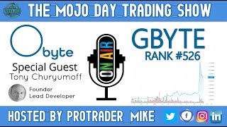 Obyte Coin ➡️  GBYTE ➡️  Rank #526🔬THE MOJO #DAYTRADING SHOW🎙️4/22/2021