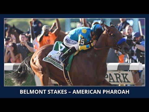 American Pharoah wins the Triple Crown - 2015 Belmont Stakes (G1)