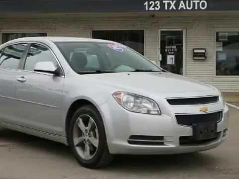 2012 Chevrolet Malibu For Sales. Dallas, Texas. BAD CREDIT car loans