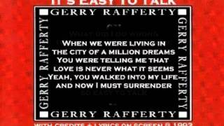 Watch Gerry Rafferty Its Easy To Talk video