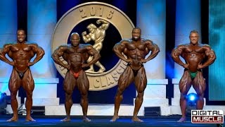 Arnold Classic 2016 Mens Posing Routines Comparisons