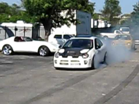 SRT-4 Burnout Altered Racin Car Show Car Wash 5/30/09 Laurel MD