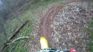 fast laps at mtf in the mud trail ride attempt rm125 go pro hd