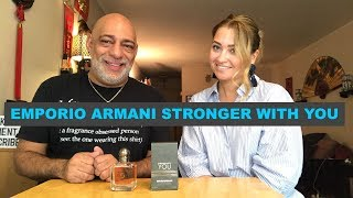 Emporio Armani Stronger With You REVIEW with Olya