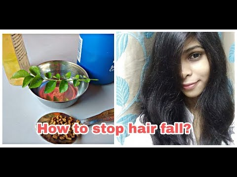 How to stop hair fall and  make your hair longer, healthy and silky / home remedies for healthy hair