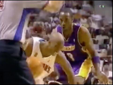 Chauncey Billups Schools Kobe - 2004 Finals