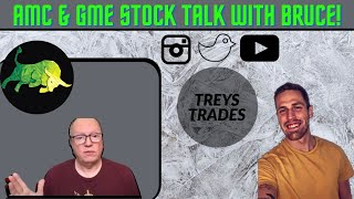AMC & GME Stock Talk With Uncle Bruce & Max Maher! Treyder's Podcast Ep. 34