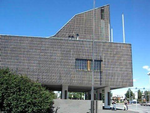 Seinajoki Finland Travel Alvar Aalto centre