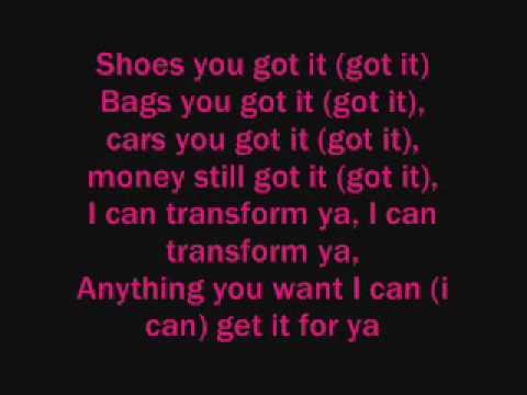 lyrics to im a flirt by