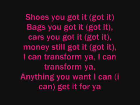 Chris Brown ft. Lil Wayne - I Can transform Ya Lyrics