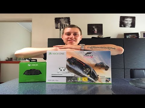 XBOX ONE S  (Unboxing FR)