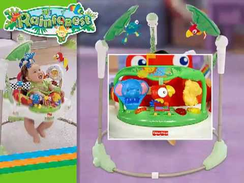 9a944968d8a0 Fisher-Price K6070 Rainforest Jumperoo sale price - YouTube