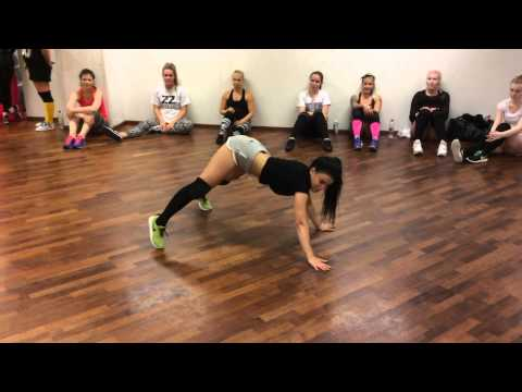 """New twerk choreo by Tinze - Sean Paul """"Come on to me"""" - (from Twerk with Tinze workshop)"""