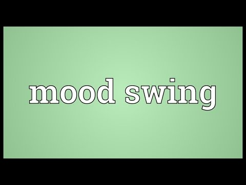 Mood swing Meaning