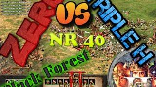 Age of empires 2 conquerors online, BF NR40 1 Vs 1 , Triple h vs Zero